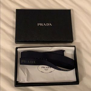 Prada Wallet Box & Shopping Bag